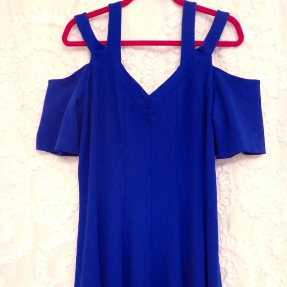 3bfe7179015 Lane Bryant Dresses   Skirts - Strappy Shoulder Fit   Flare Dress